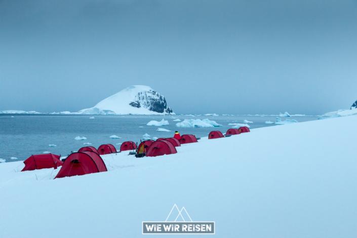 Hurtigruten Zeltcamp