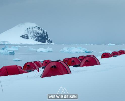 Reisebericht Camping in der Antarktis