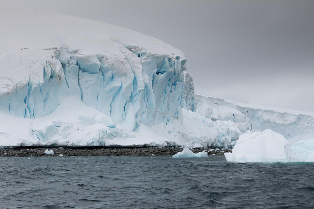 Glestcher auf der Lemaire Insel in der Antarktis