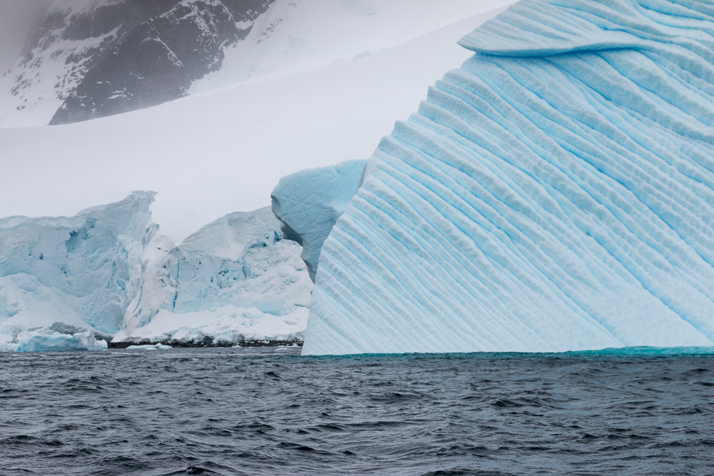 Iceberg near Gonzales Videla Station in Antarctica